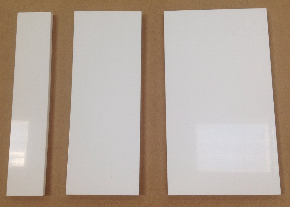Gap Filler Panels all Colours and Wood Finishes